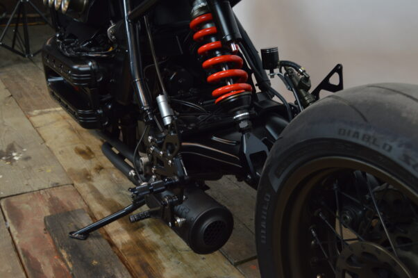 scarico 4in 1 caferacer bmw k100